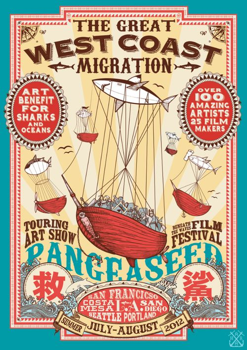 PangeaSeed-Great West Coast Migration-Tour Poster_ FRONT