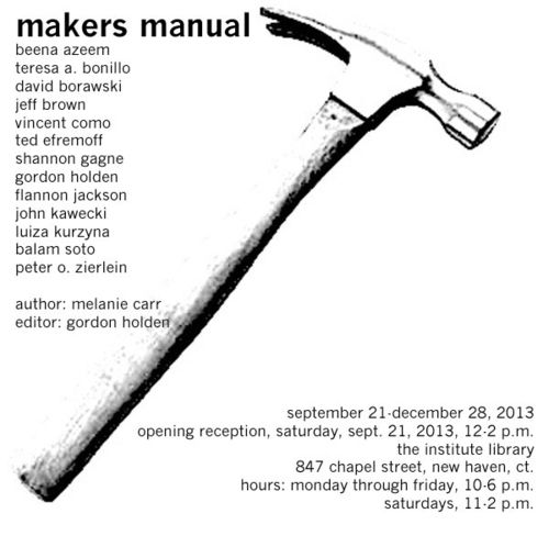 Makers manual evite