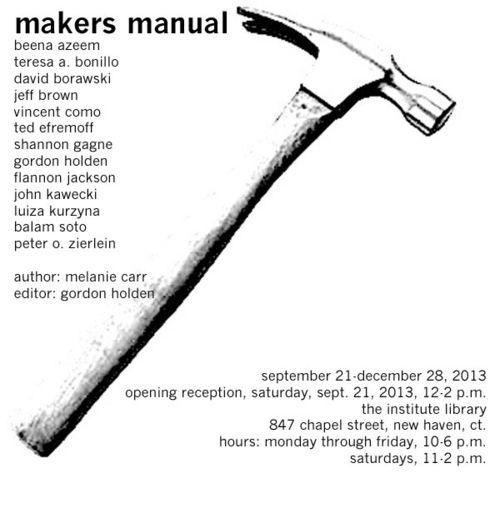 Makers manual evite
